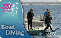 SSI Boat Diving Specialty Instructor