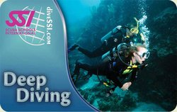 SSI Deep Diving Specialty Instructor