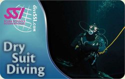 SSI Dry Suit Diving Specialty Instructor