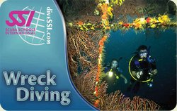 SSI Wreck Diving Specialty Instructor